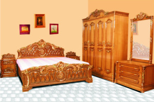 Bed Room Set Jati