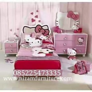 Bed Room set Hello kitty
