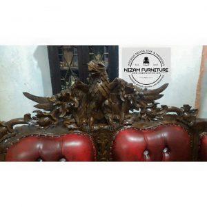 Kursi Sofa Garuda Jati